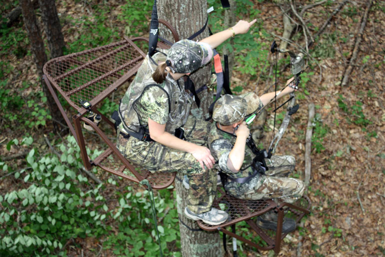 What Kind Of Treestand Is This Hunting